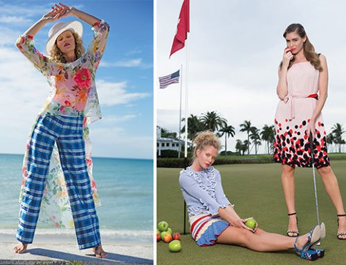 Marilyn's Fashion Looks Featured in Gulfshore Life Editorial, March 2017