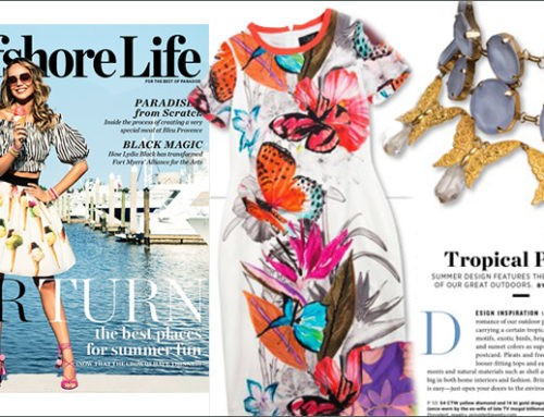 Gulfshore Life June 2017 Editorial Features Dress and Necklace From Marilyn's
