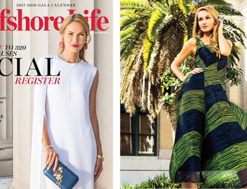 Gulfshore Life Magazine – September 2017 Features Dress From Marilyn's