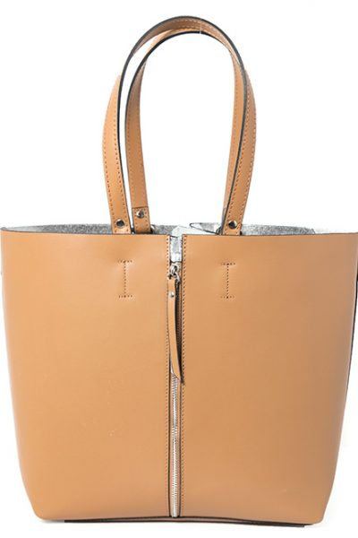 Leather_Expanded-Zipper-Handbag_Tan