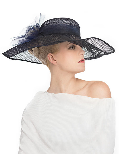 Sku-21739_Wide-Flexible-Brim-Hat_Navy_side-view
