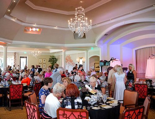 Marilyn's Fashion Show Provides Entertainment For The Christ Child Society Founders Lunch 2018