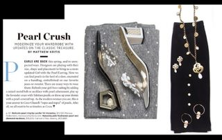 Press Coverage - Gulfshore Life Magazine - Features Marilyn's Shoes And Jewelry