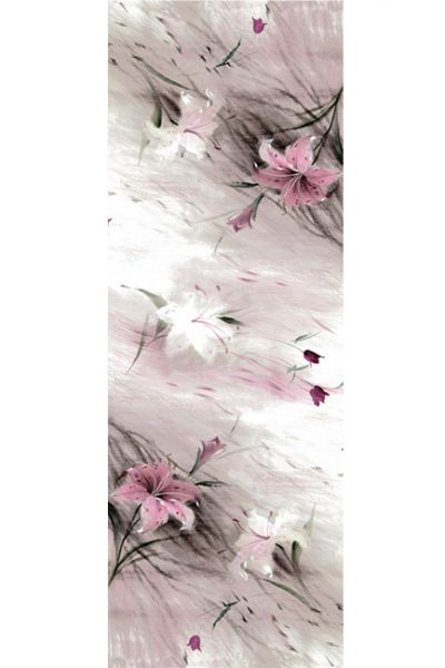 Shawl- Soft Flower Sketch - Pink