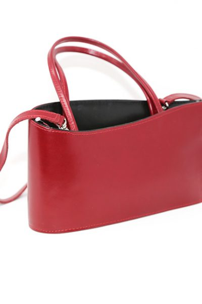 Handbag Contemporary style red