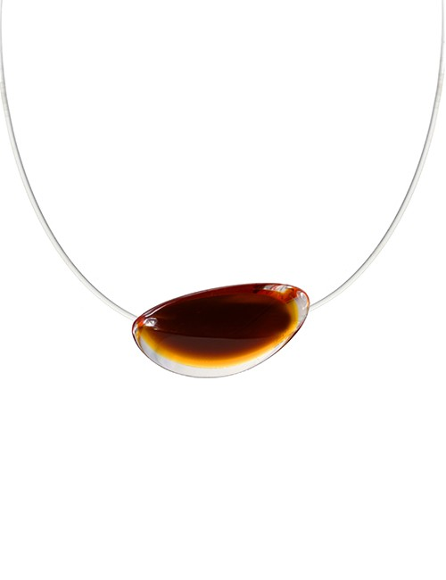 Marilyn Luxury Plexiglas Jewelry Necklace MX393