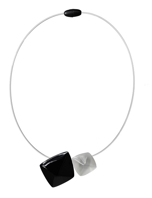 Marilyn Luxury Plexiglas Jewelry Necklace MX452