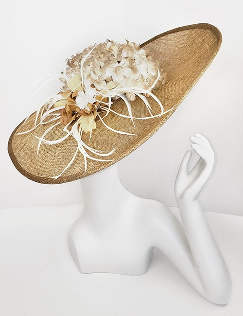 Marilyn Headband fascinator Handmade in Paris 2657