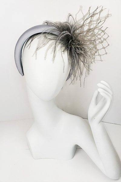 Marilyn Headband fascinator Handmade in Paris 2631