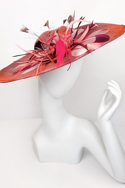 Marilyn Headband fascinator Handmade in Paris 2645