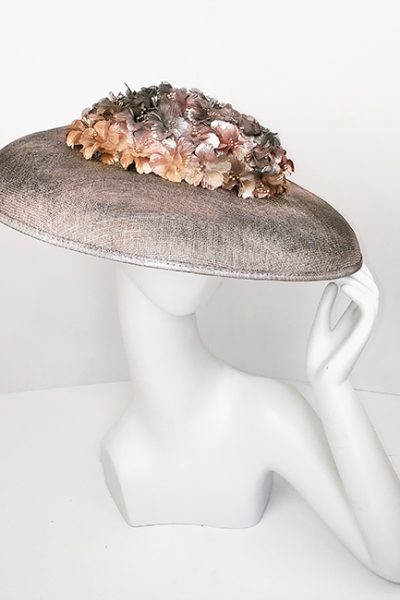 Marilyn Headband fascinator Handmade in Paris 2664