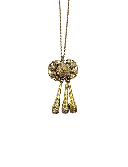 Marilyn Spanish Bronze and Crystal Necklace