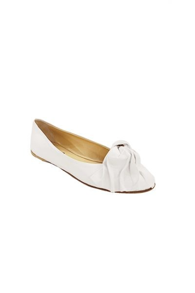 Marilyn, Italian Leather Ballet Style Shoes Rosa