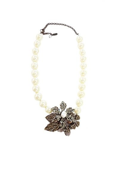 Marilyn Venetian Pearl Swarovski Necklace