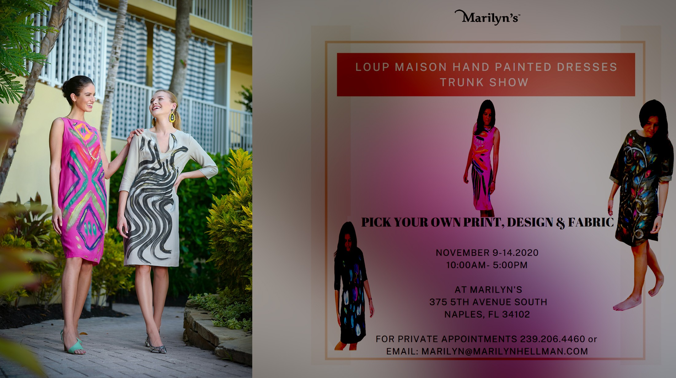 Marilyn's - Upcoming Events