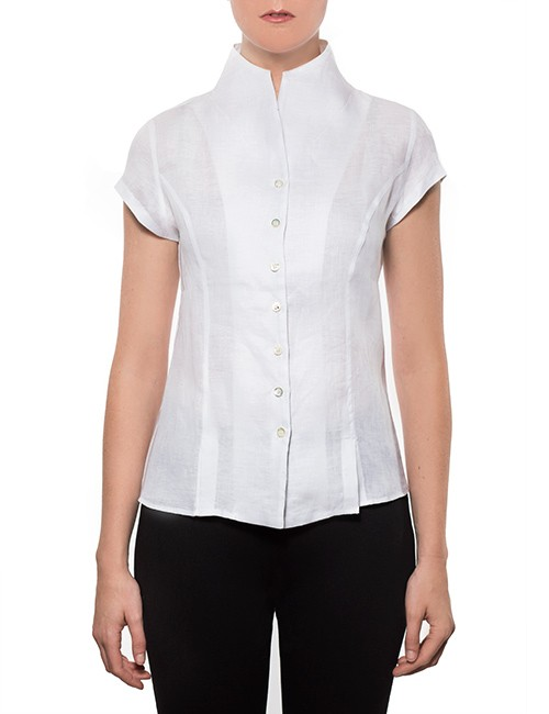 Marilyn's Capped Sleeve Blouse