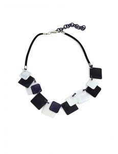 Marilyn's Spanish Aluminum Stacked Necklace CO148